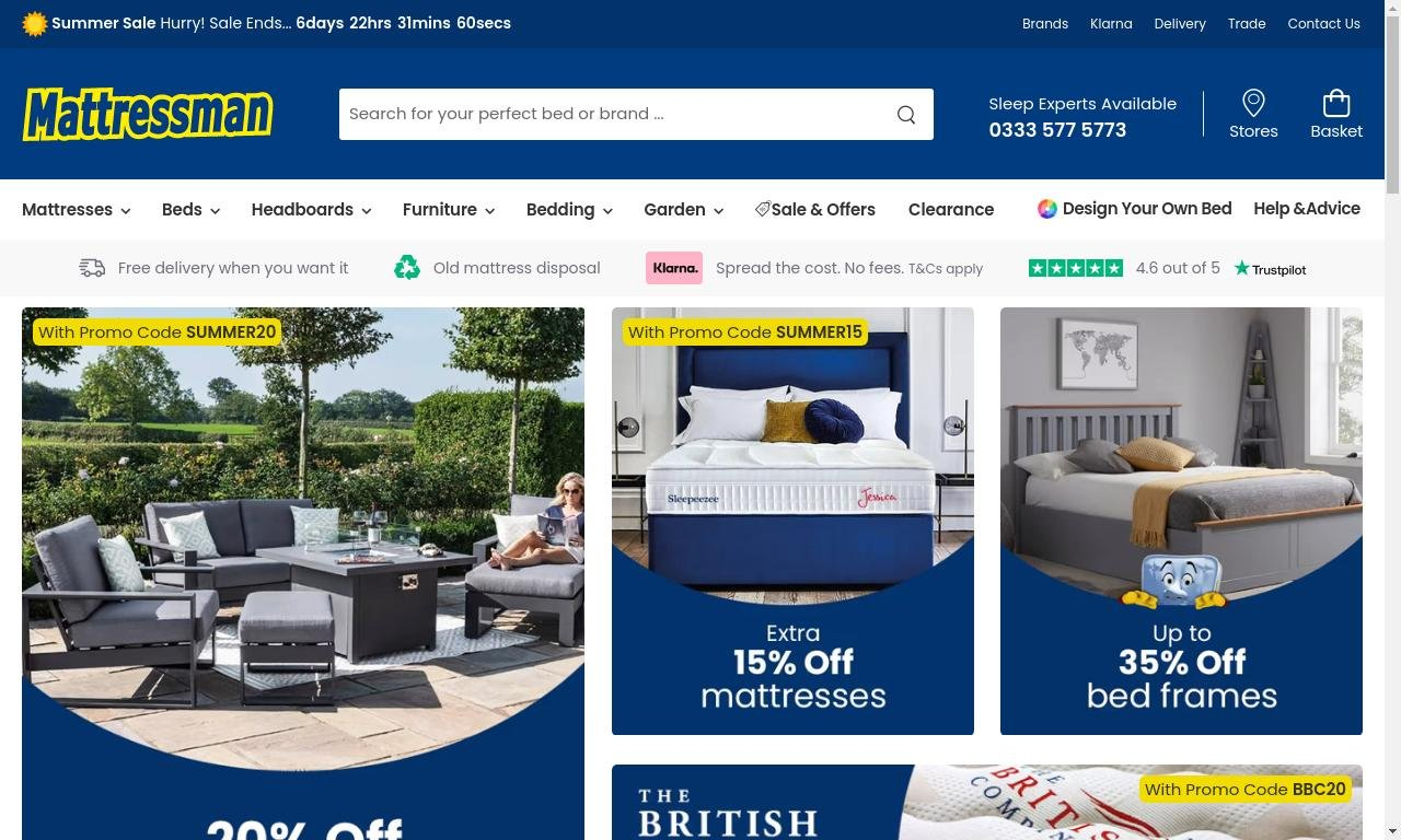 Mattressman.co.uk 1