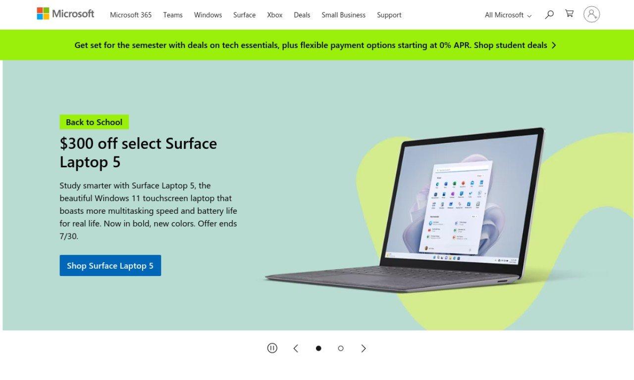 Microsoft.com - Canada 1