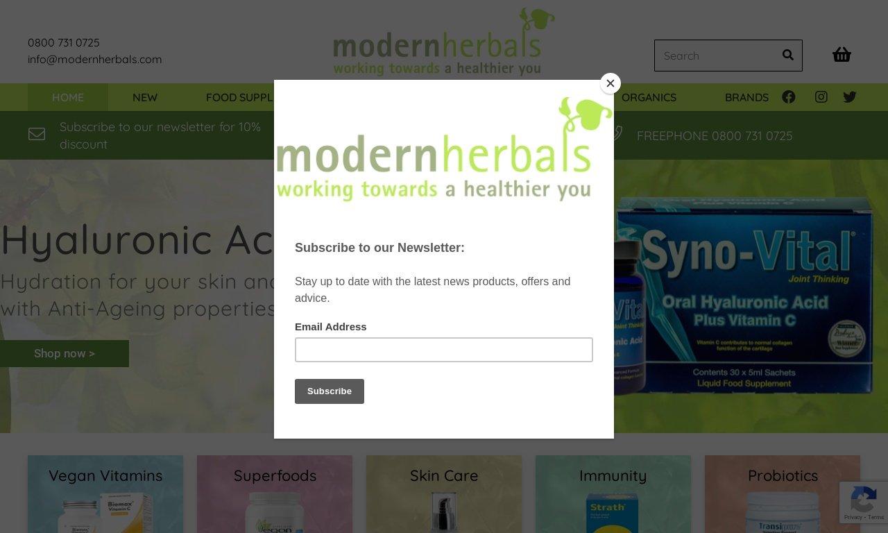 ModernHerbals.com 1