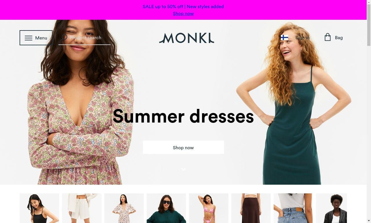 Monki.com 1