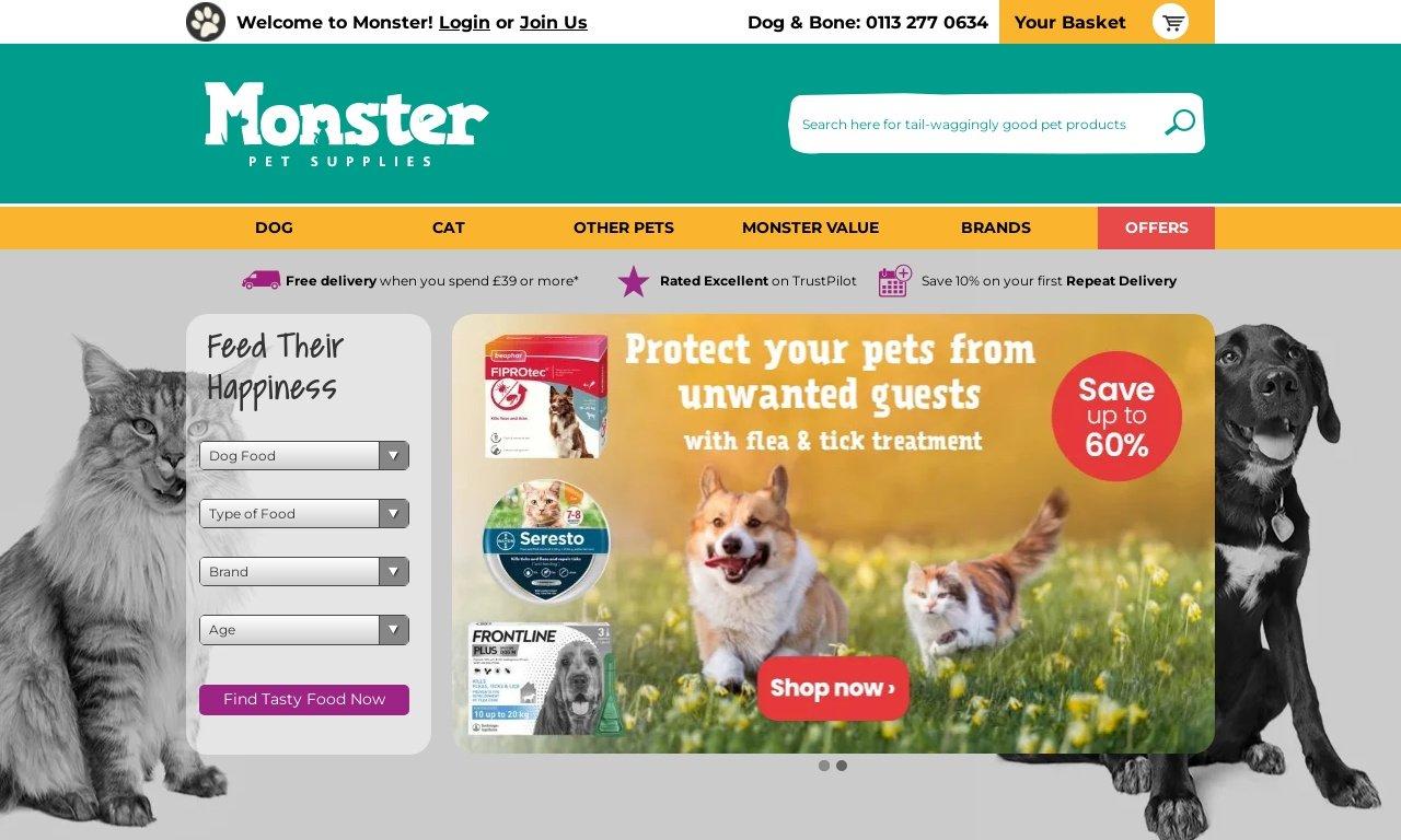 Monster Pet Supplies 1