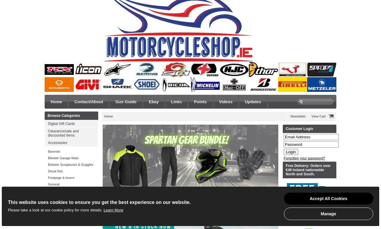 MotorcycleShop.ie 1