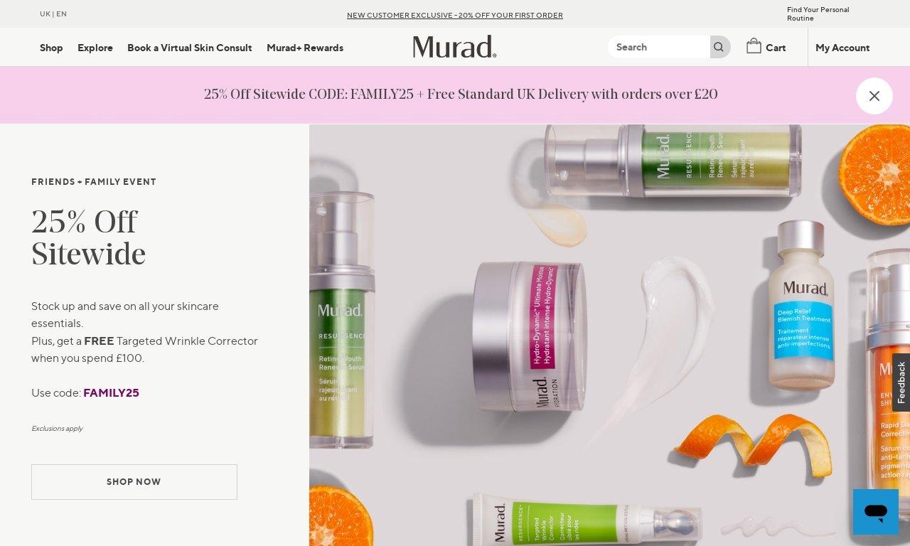 Murad.com 1