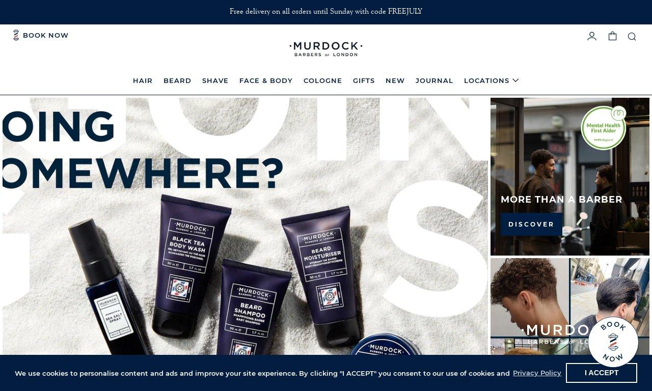 Murdock london.com 1