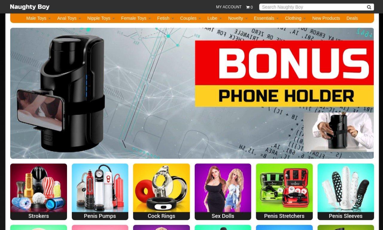 Naughtyboy.com.au 1