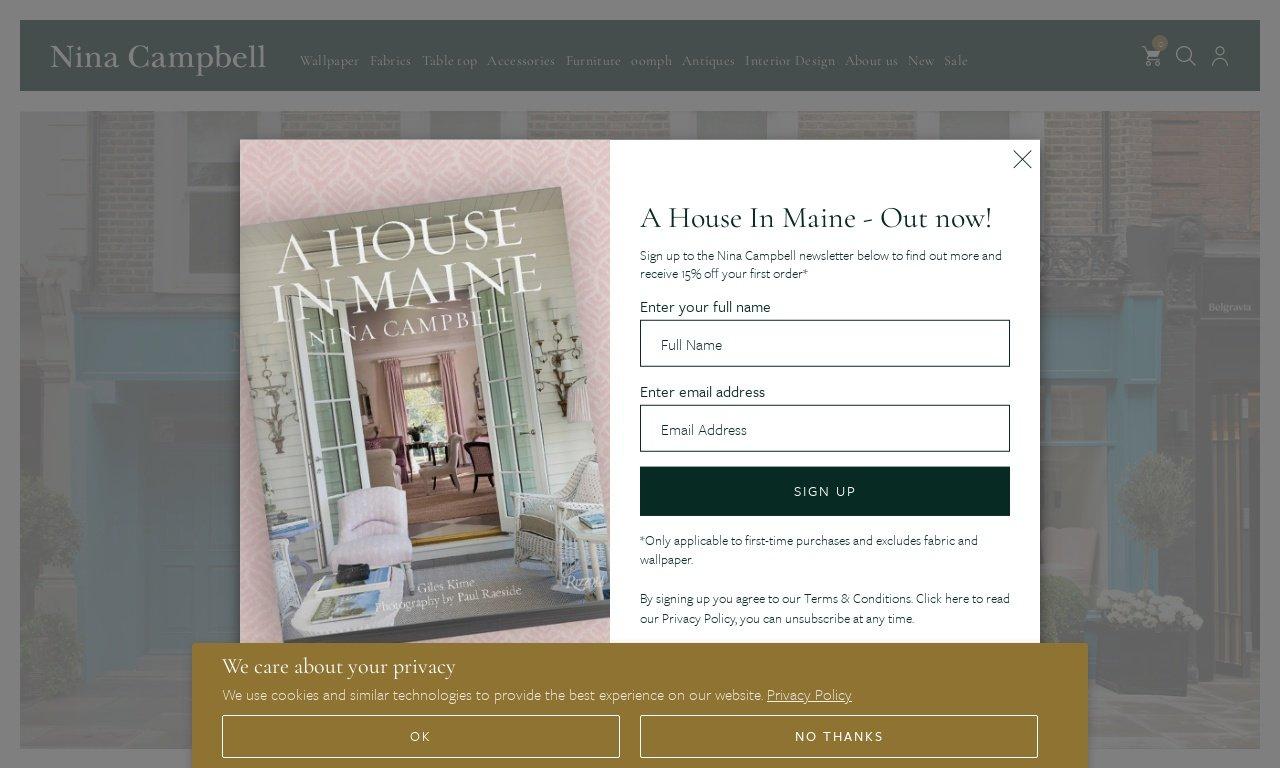 Nina campbell.com 1