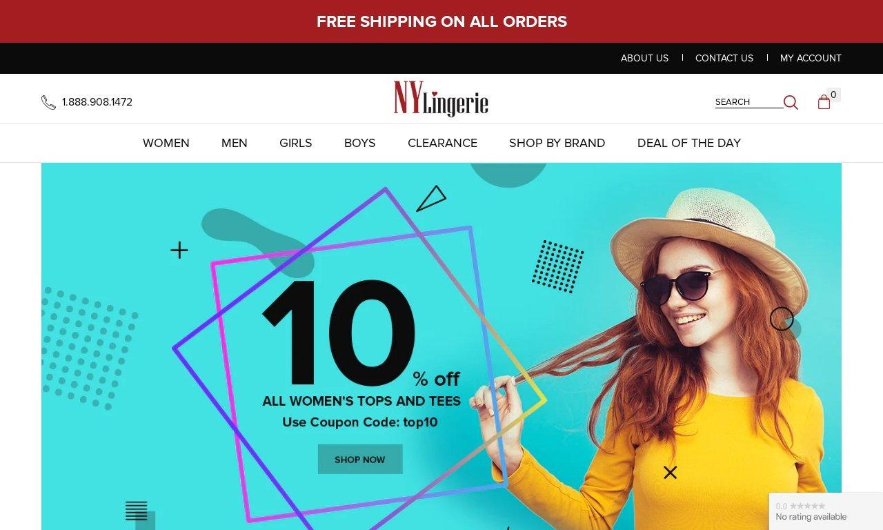 NyLingerie.com 1