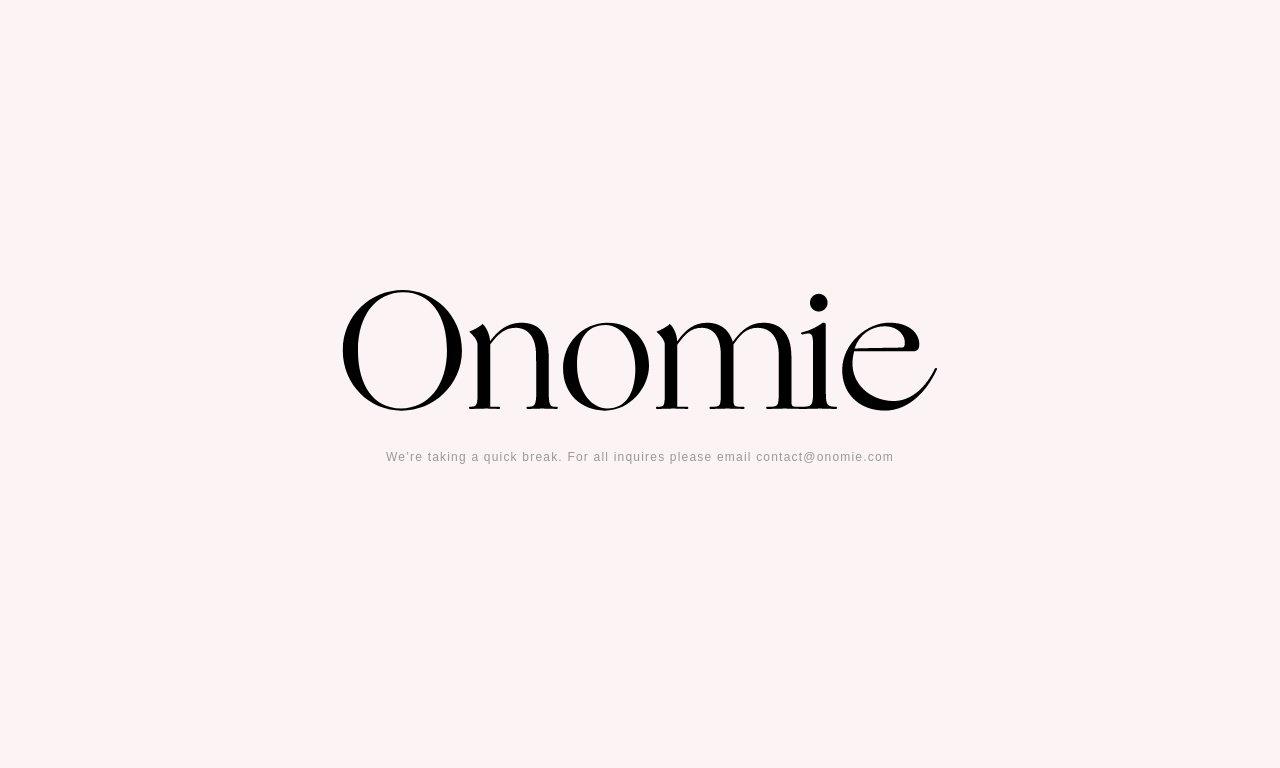 Onomie.com 1