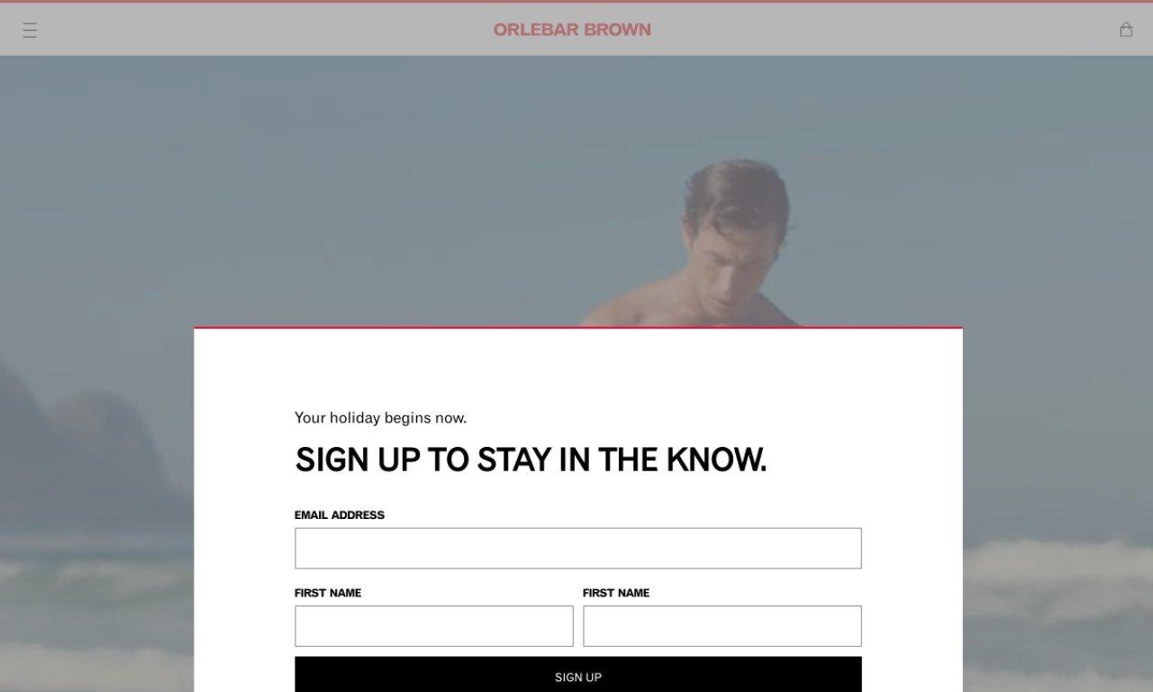 Orlebar brown.com 1