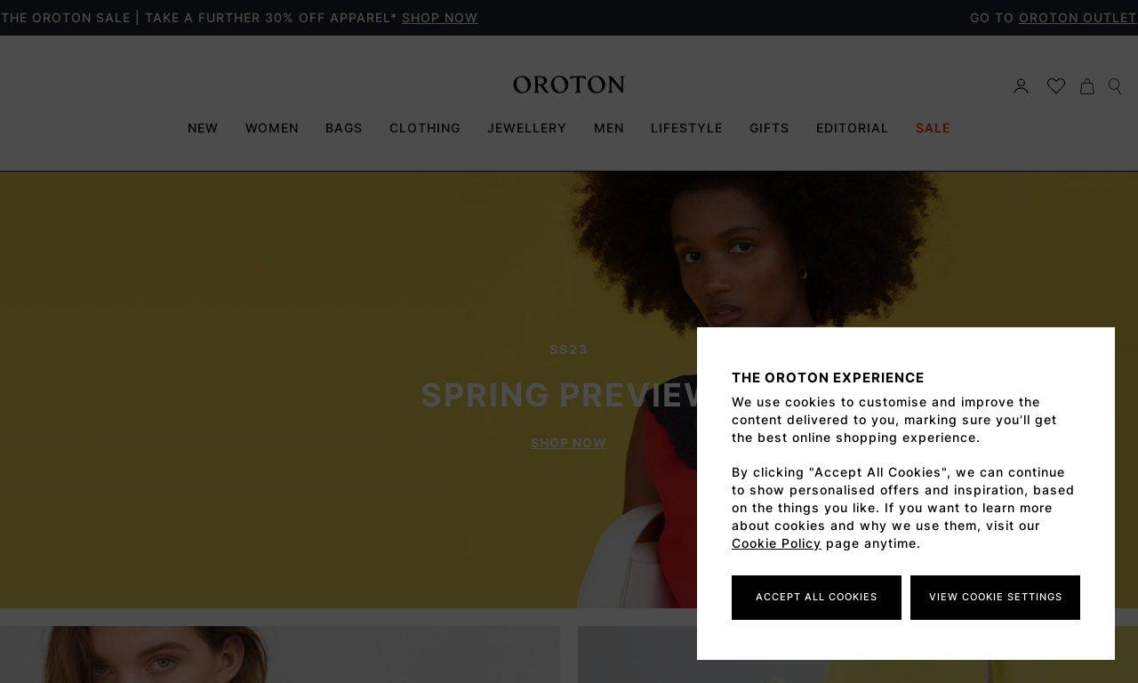 Oroton.com 1
