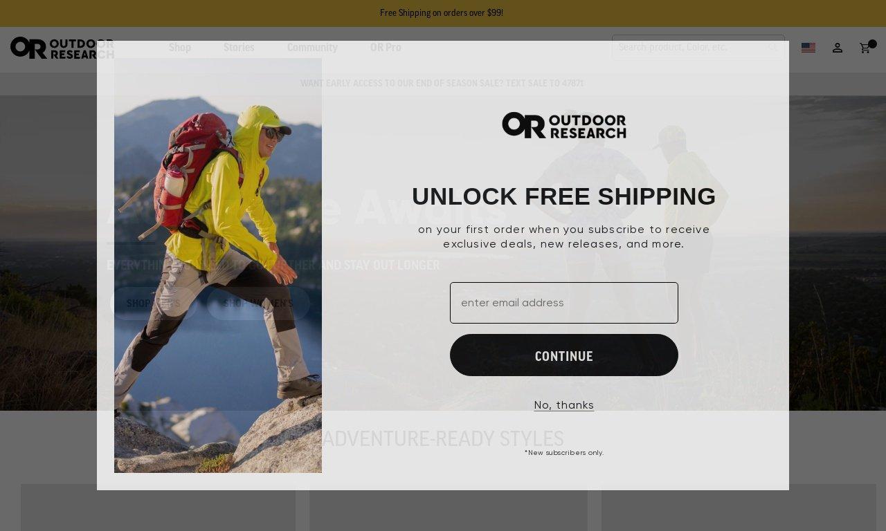 Outdoorresearch.com 1