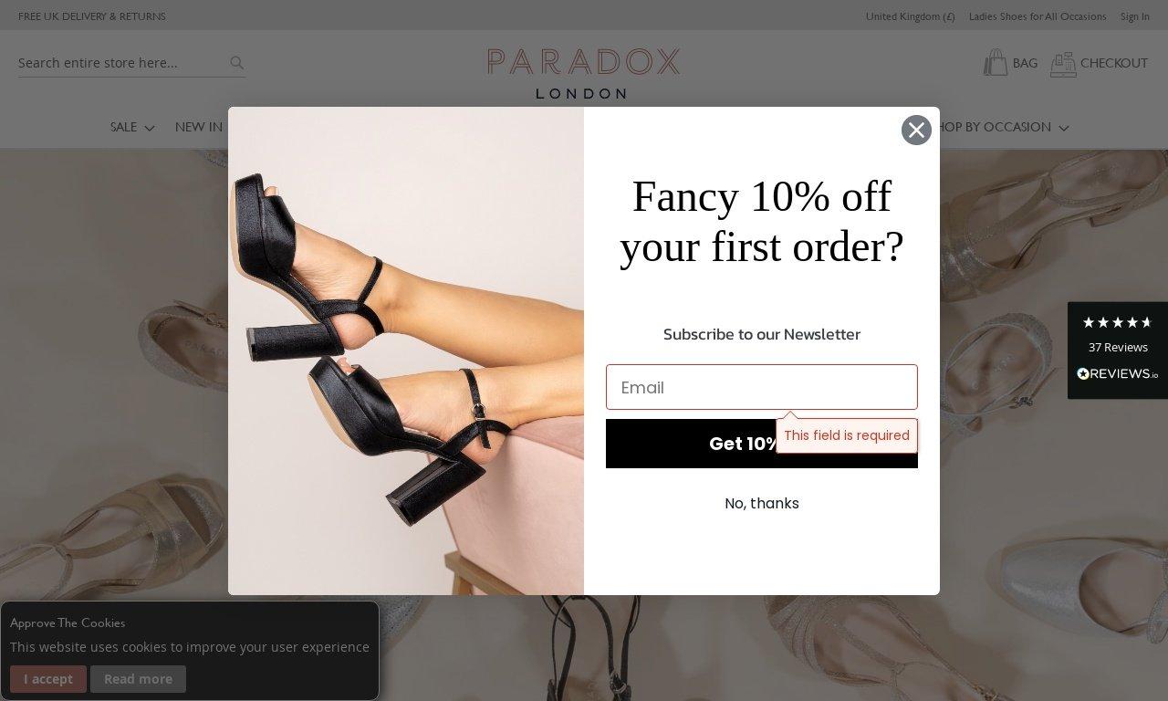 Paradoxlondon.com 1