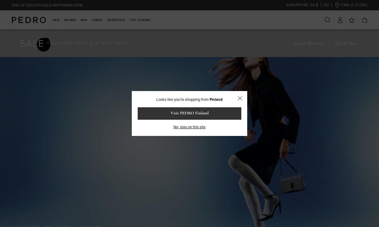 Pedroshoes.com 1