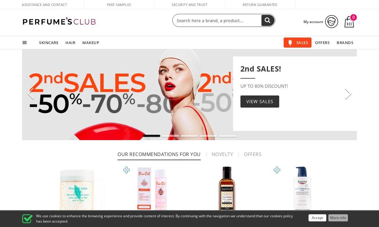 Perfumes club USA 1