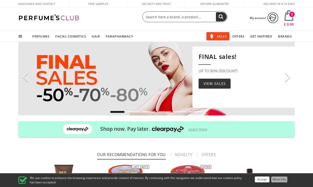 Perfumesclub.com - New Zealand 1