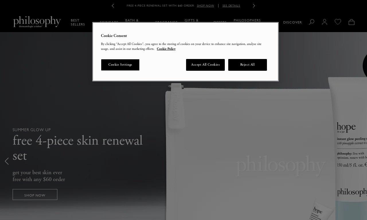 Philosophyskincare.co.uk 1