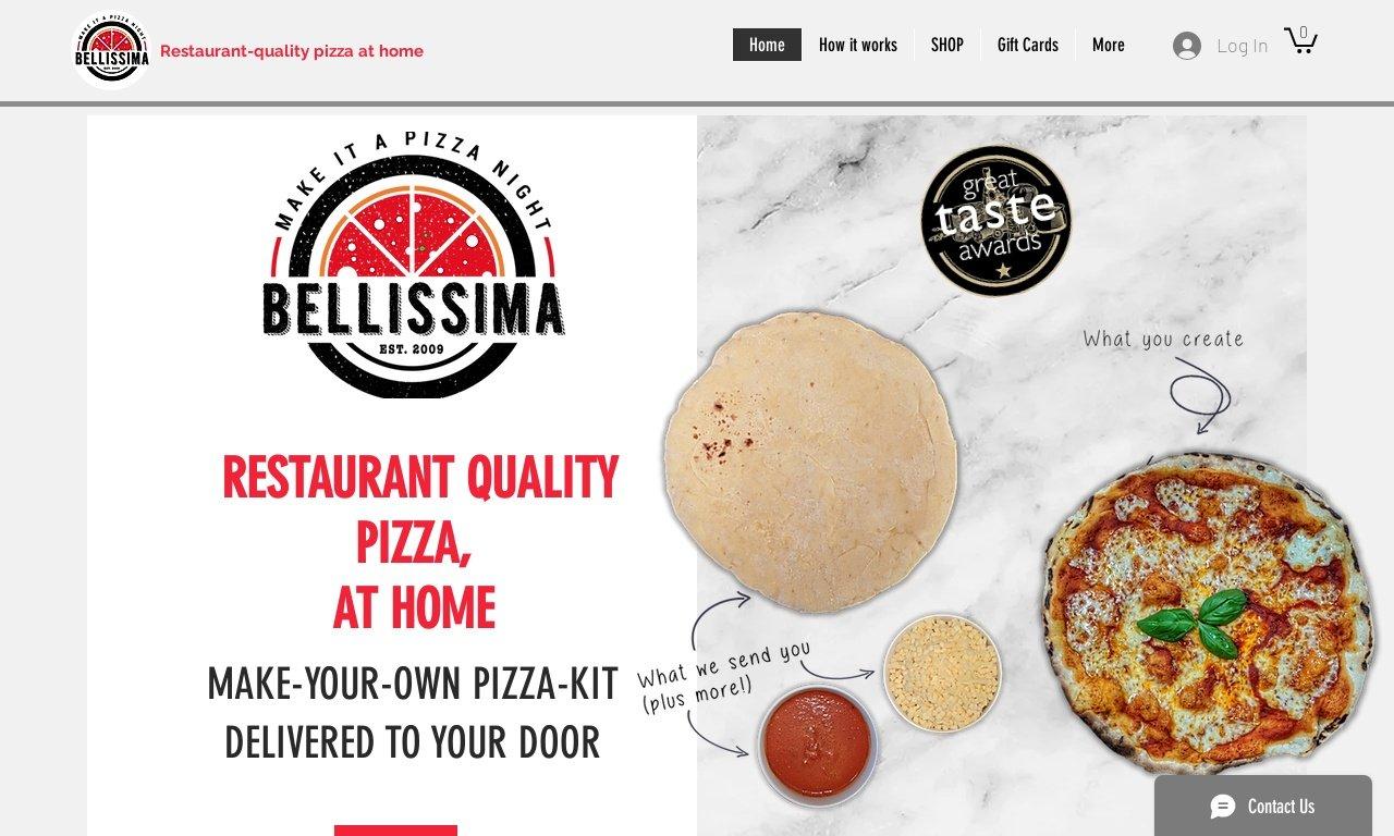 Pizzabellissima.co.uk 1
