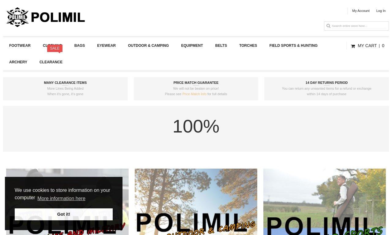 Polimil.co.uk 1