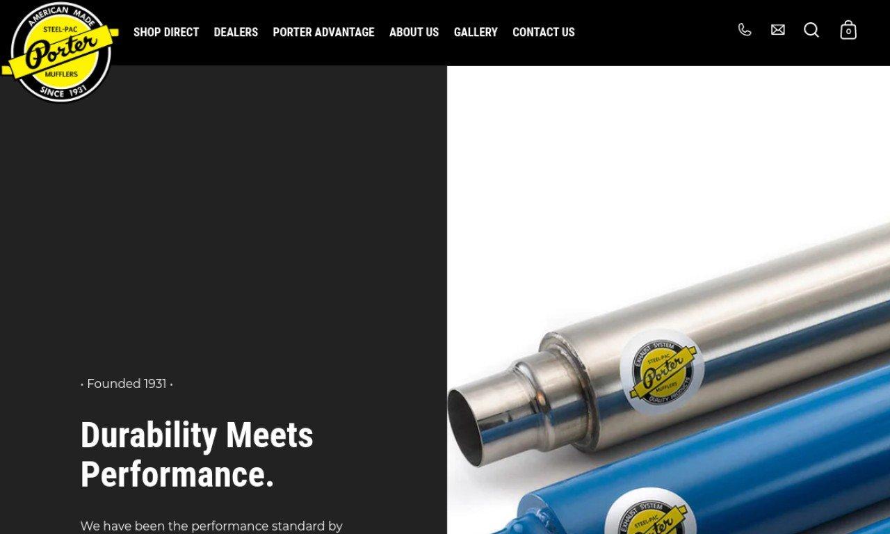 Portermufflers.com 1