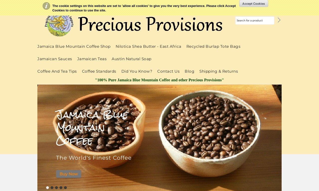 PreciousProvisions.com 1