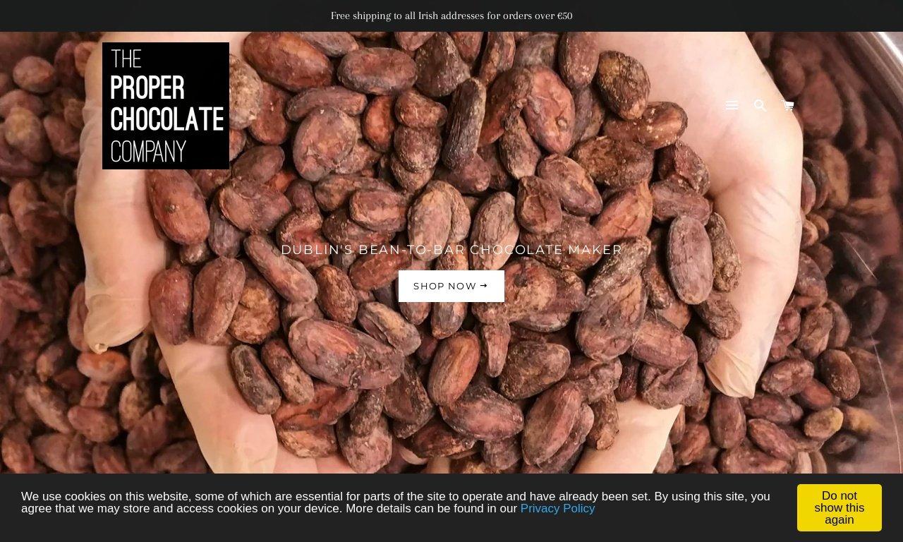 Proper chocolate company.com 1