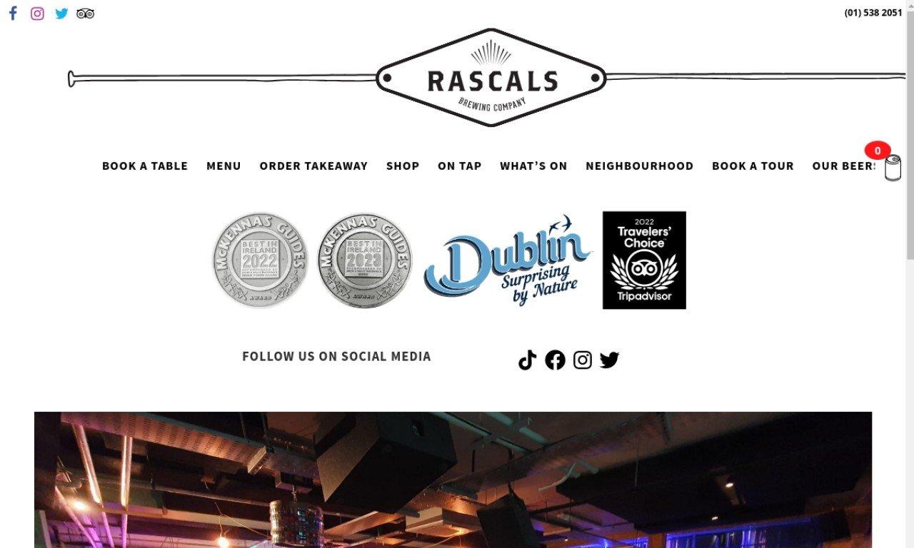 Rascalsbrewing.com 1