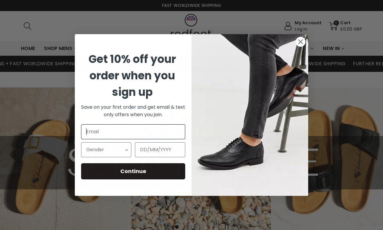 Redfootshoes.com 1