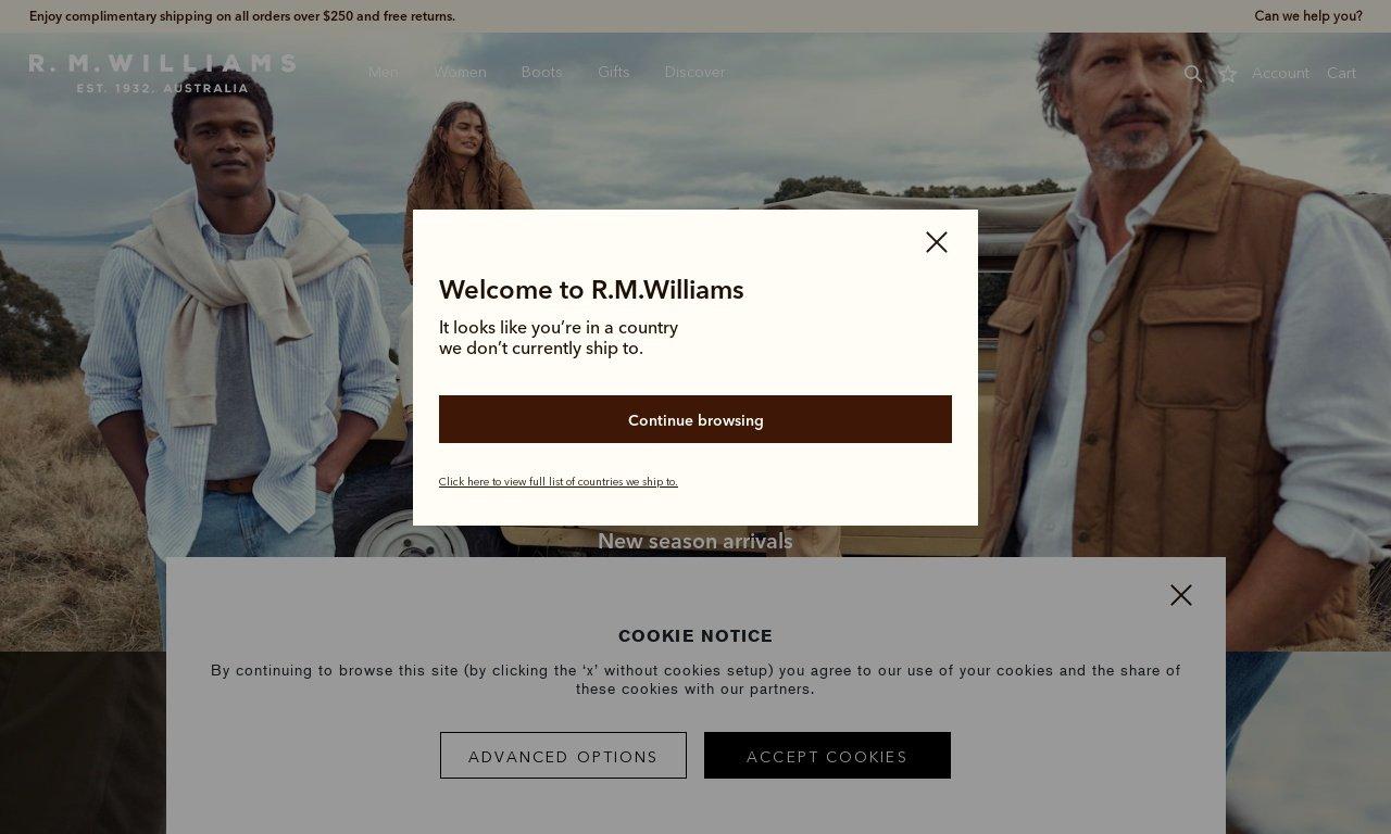 Rmwilliams.com.au 1