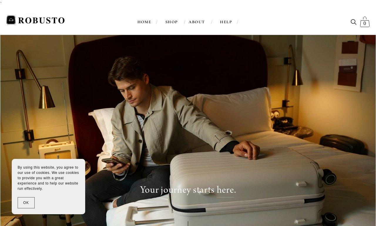 Robusto luggage.com 1