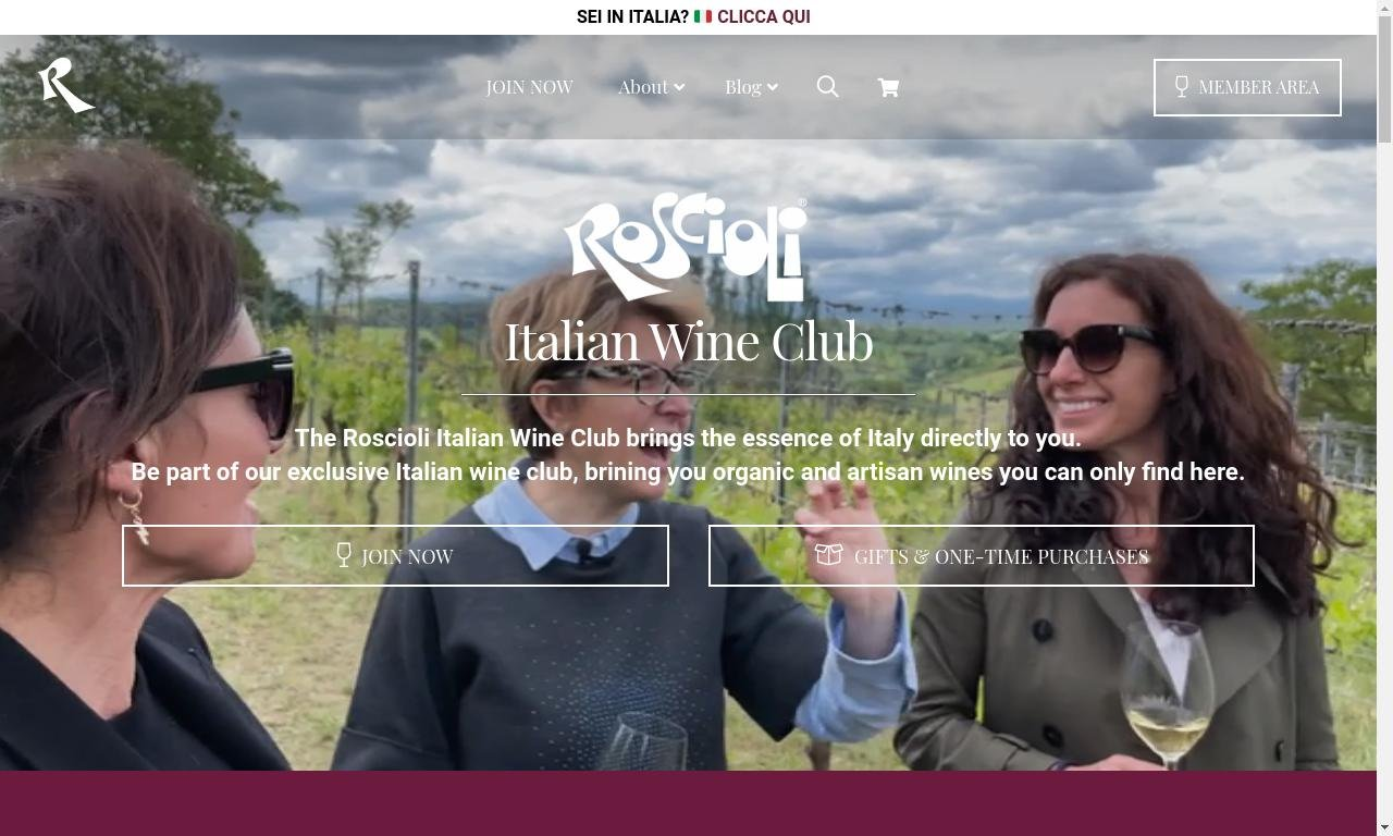 Roscioli wine club.com 1