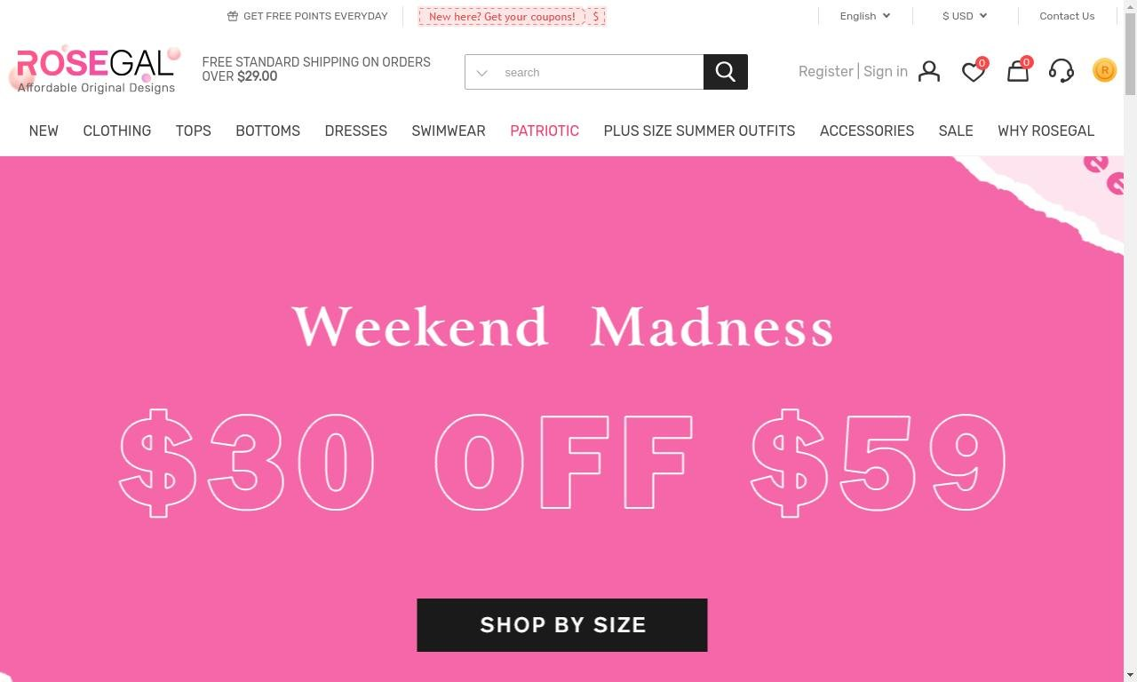 Rosegal.com 1