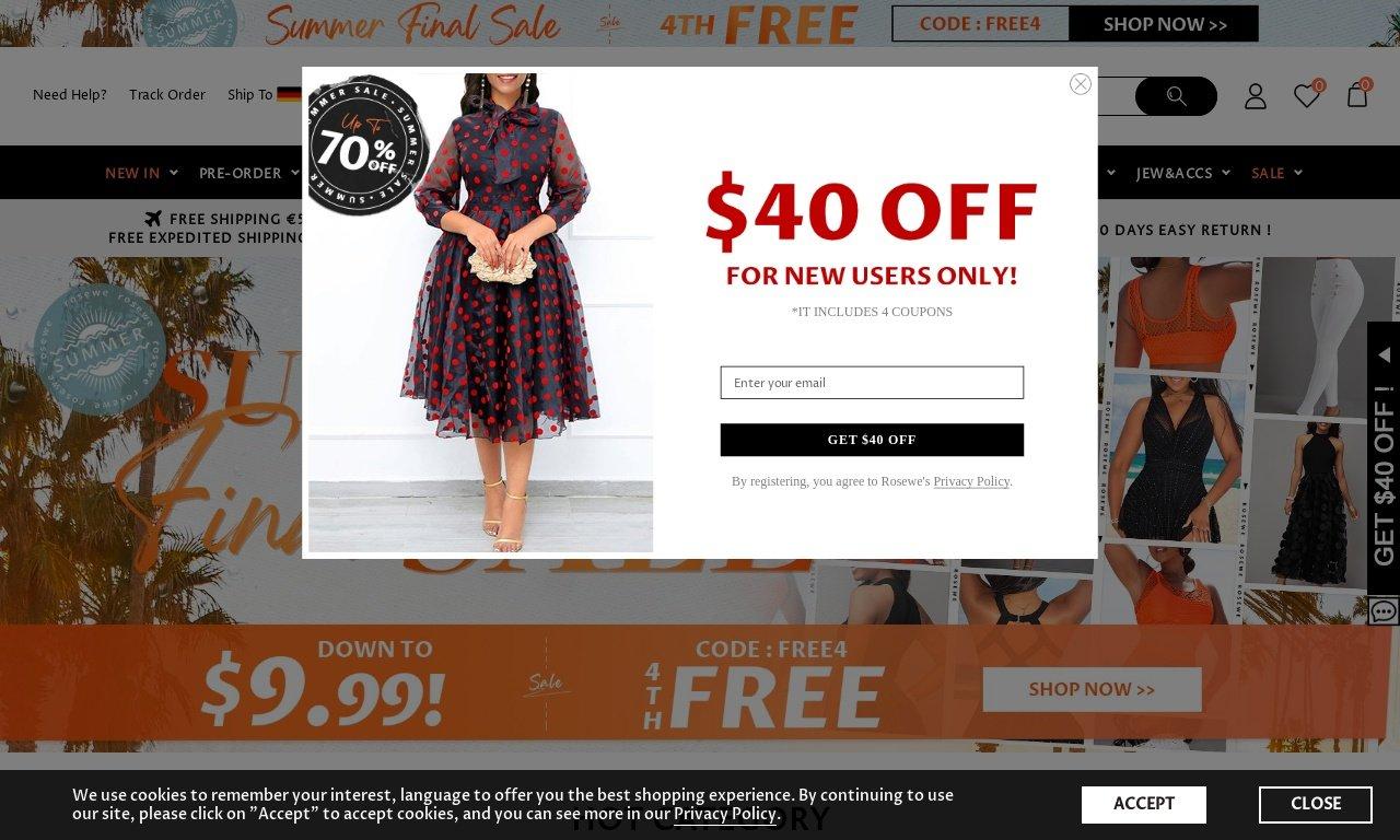 Rosewe.com 1