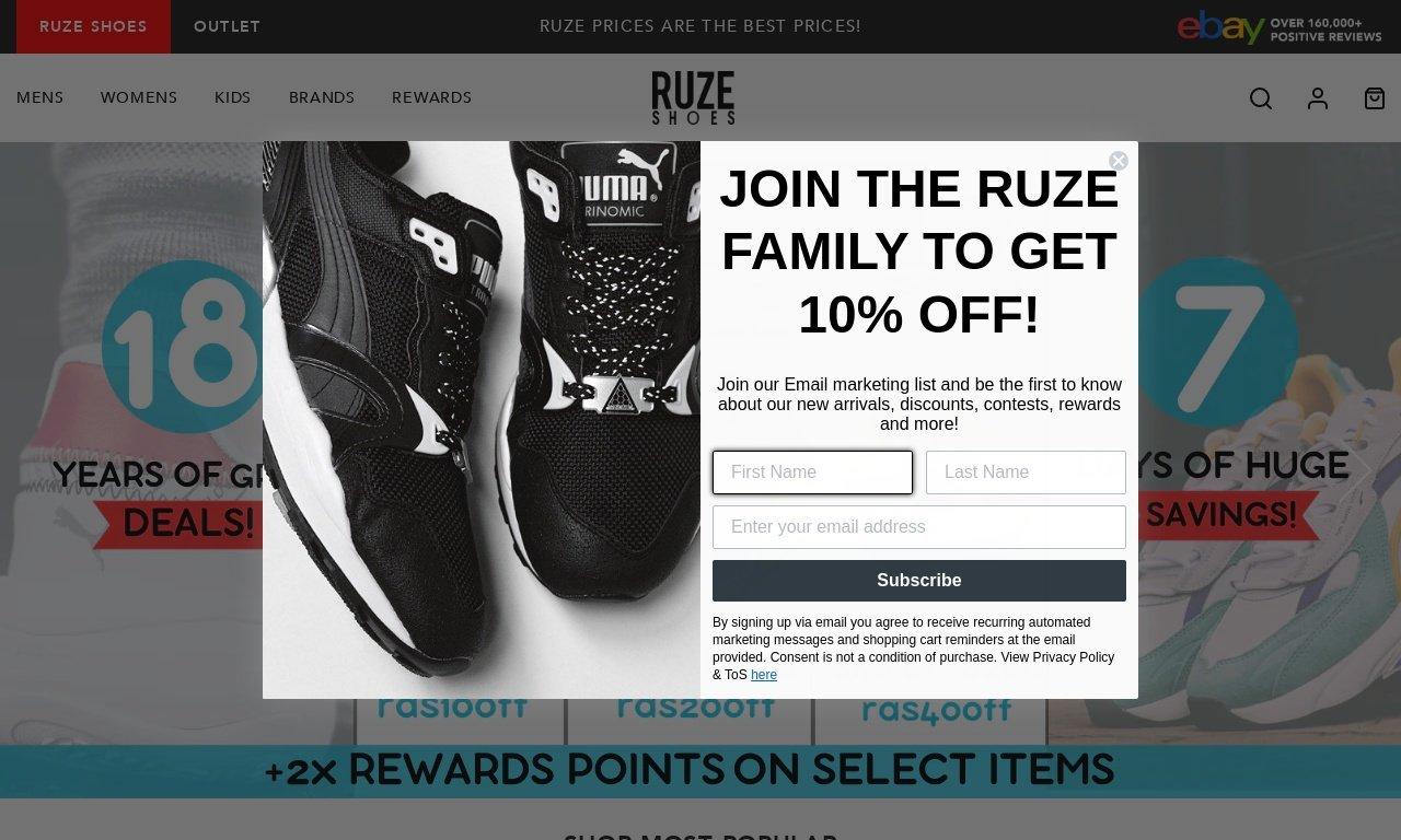 RuzeShoes.com 1