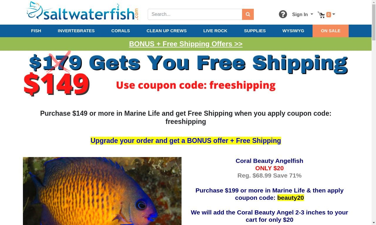 Saltwaterfish.com 1