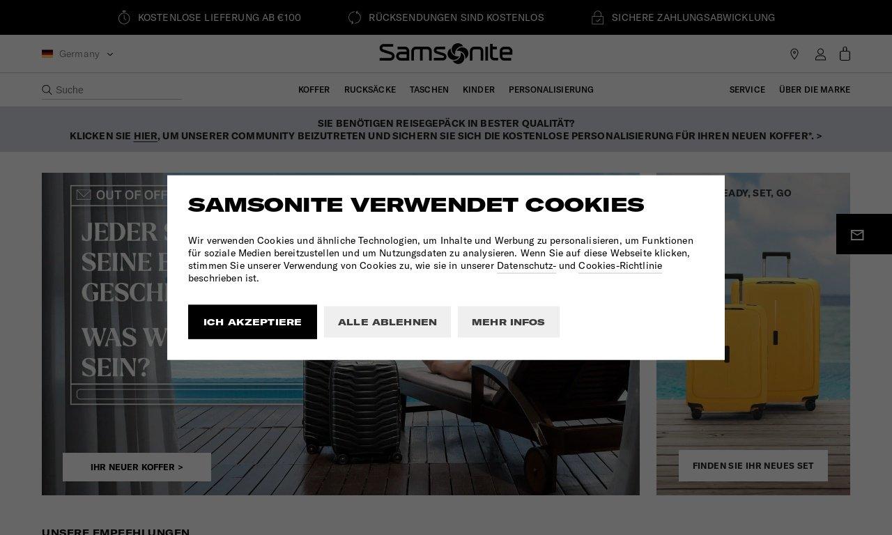 Samsonite.ca 1