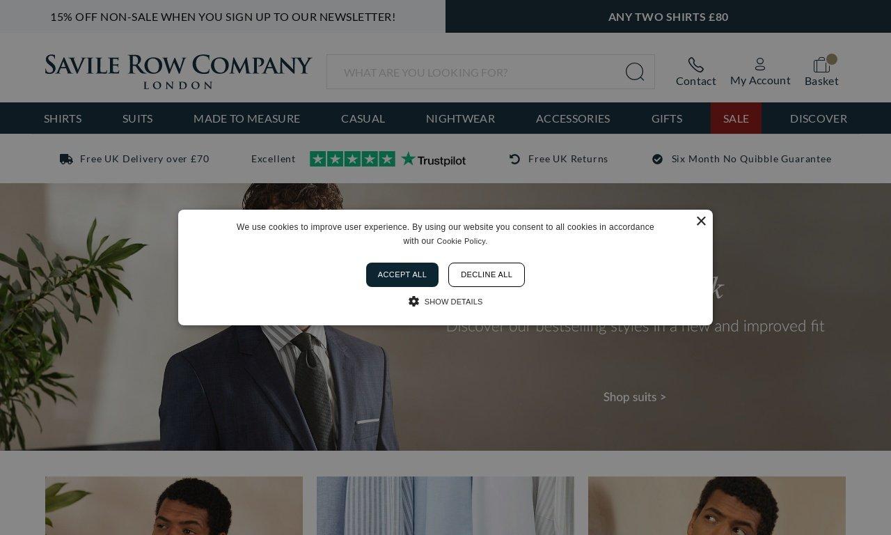 Savile row co.com 1