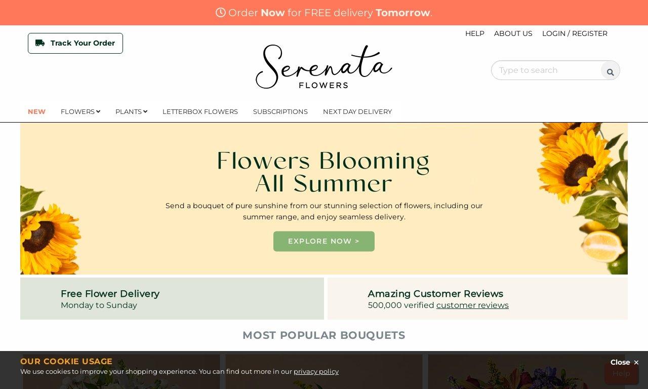 Serenata flowers.com 1