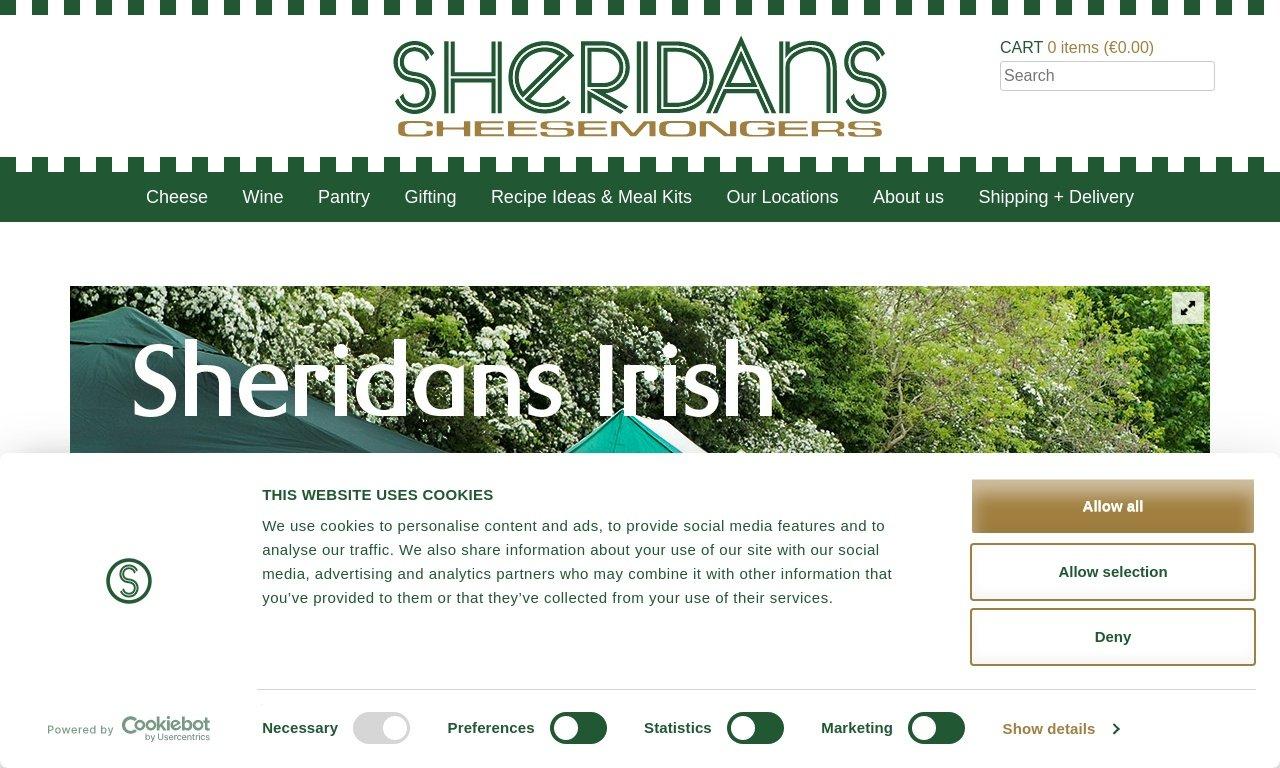 Sheridanscheesemongers.com 1