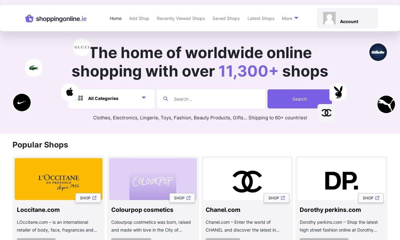 ShoppingOnline.ie 1