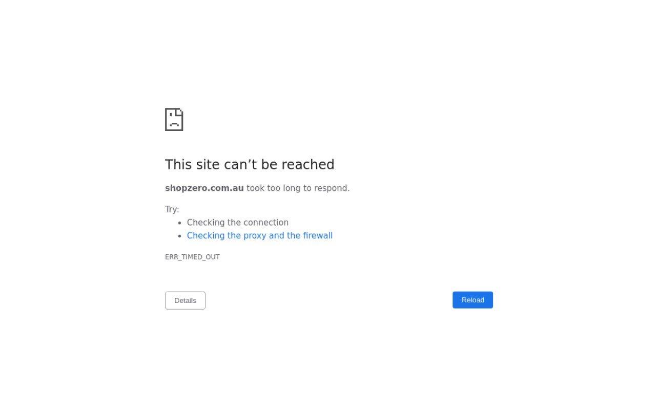 Shopzero.com.au 1