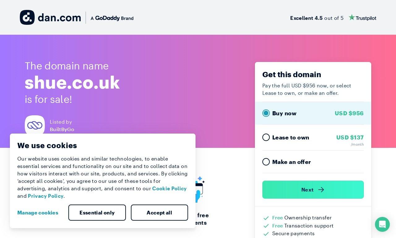 Shue.co.uk 1