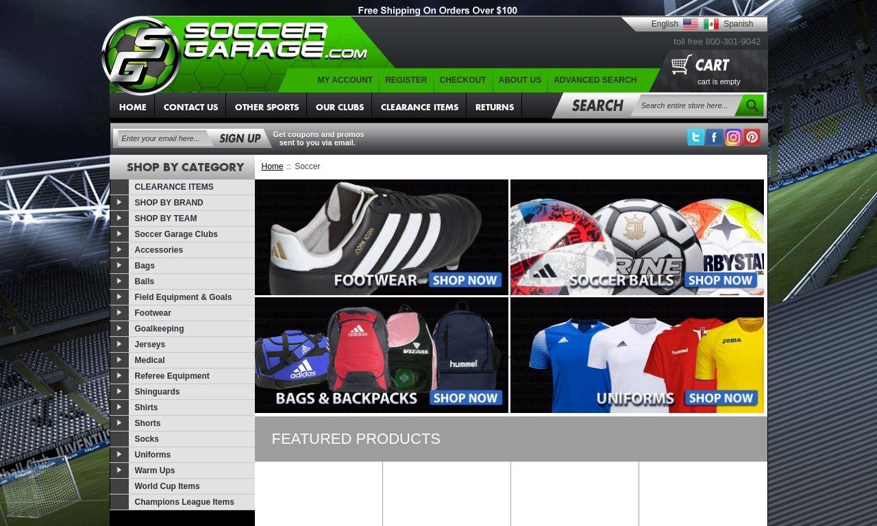 SoccerGarage.com 1