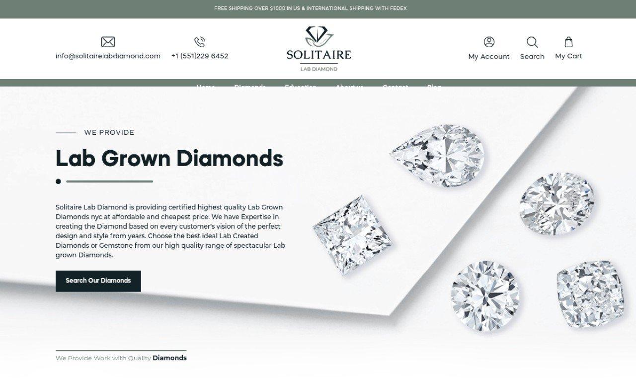 Solitaire lab diamond.com 1