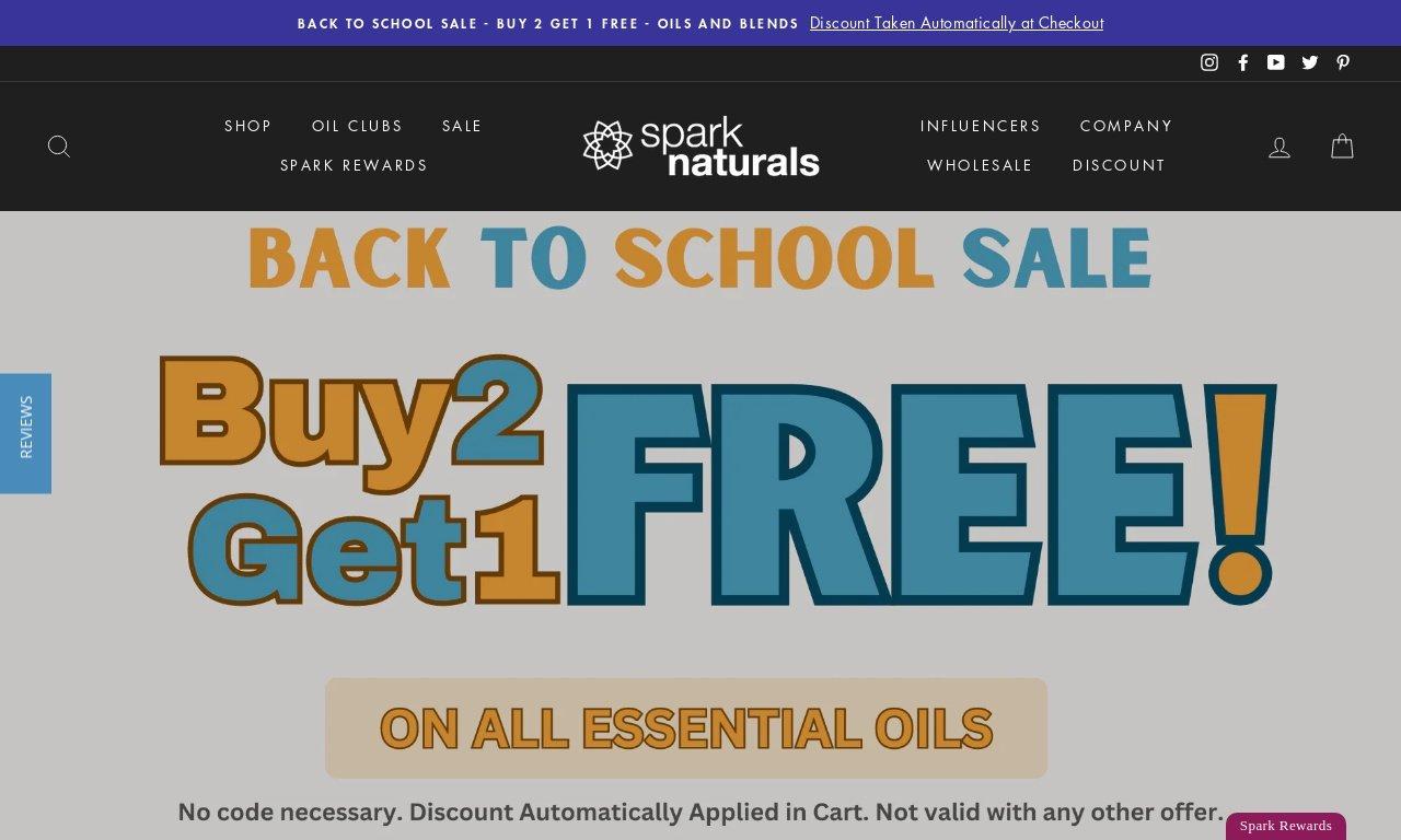 Sparknaturals.com 1