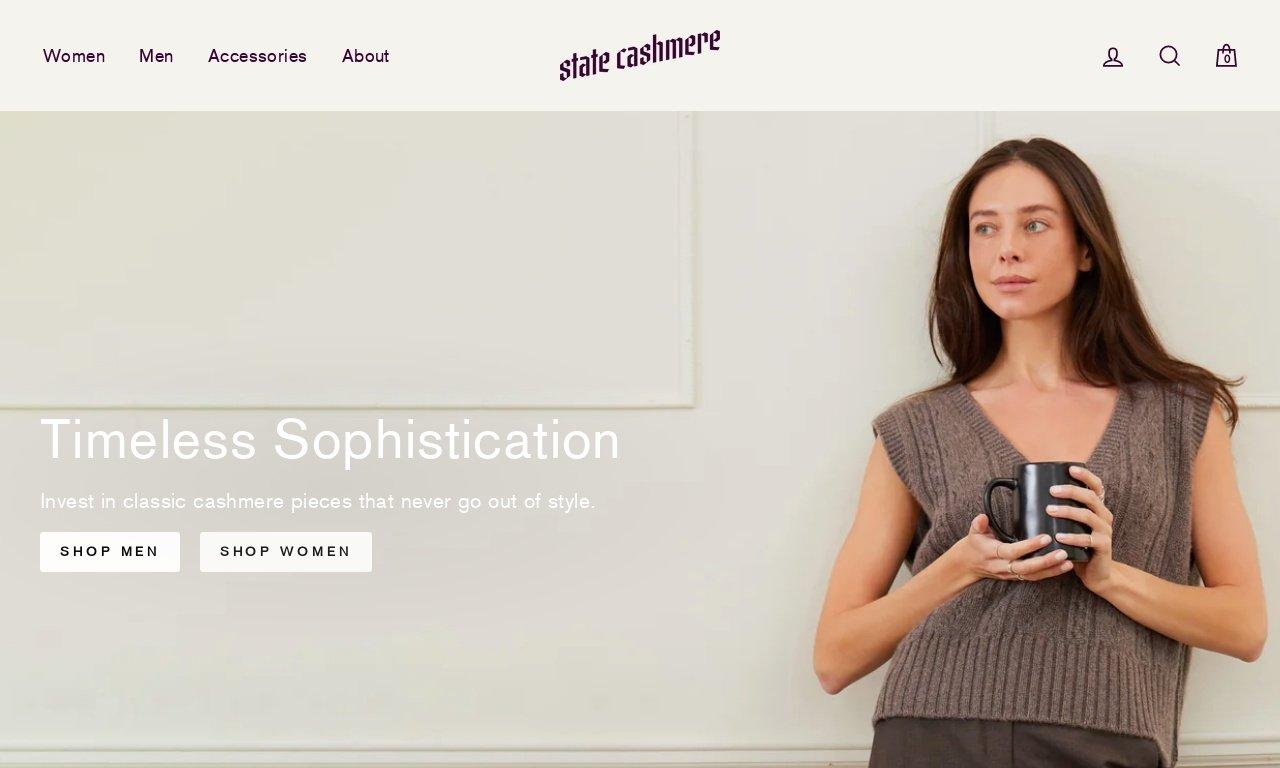 Statecashmere.com 1