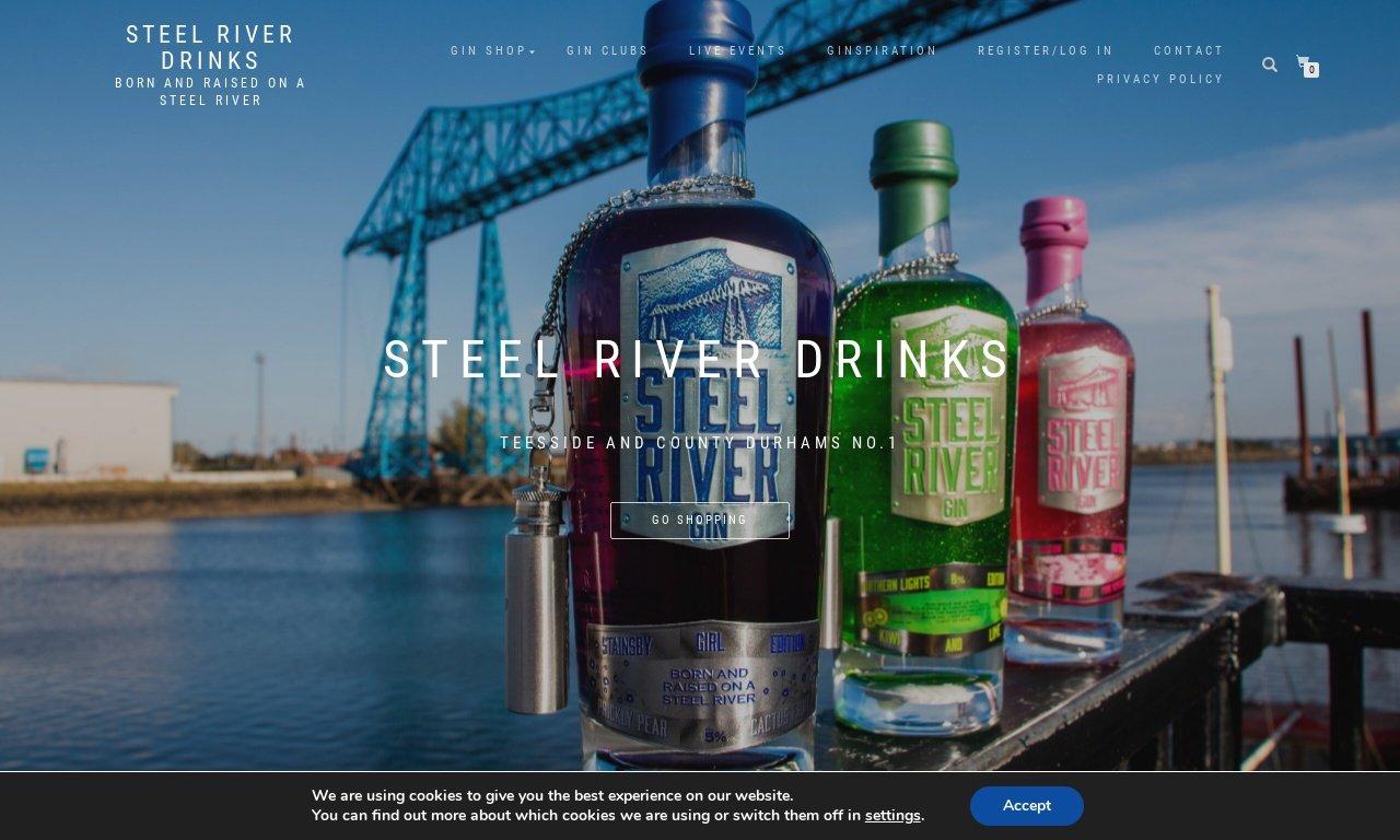 Steel river drinks.com 1
