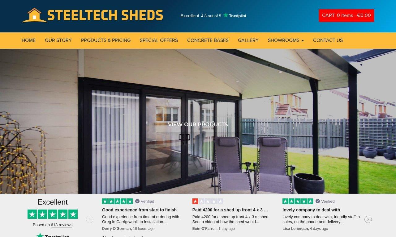 Steeltechsheds.ie 1