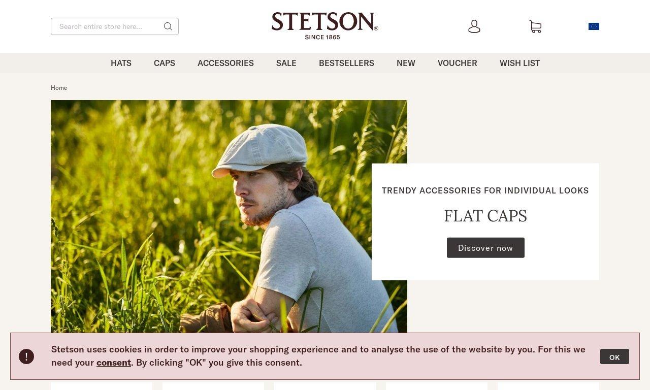 Stetson.com 1