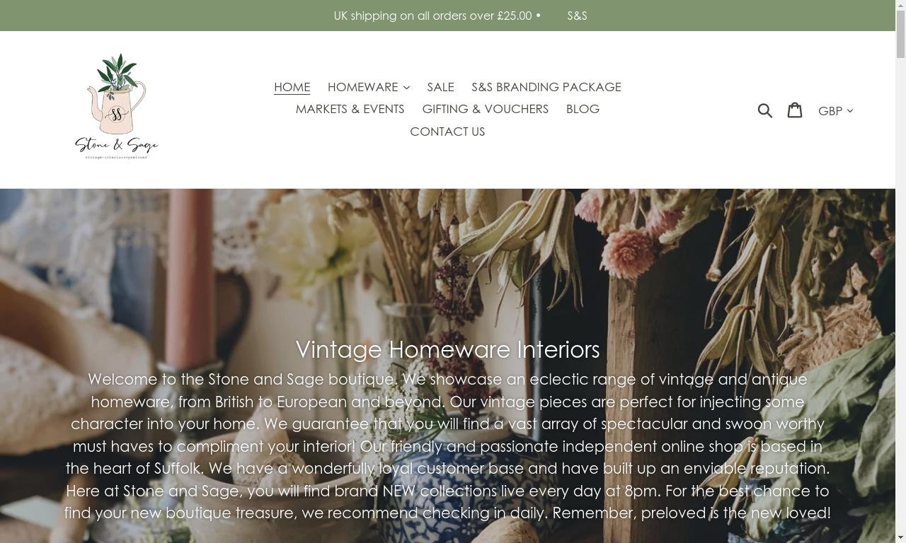 Stoneandsage.co.uk 1