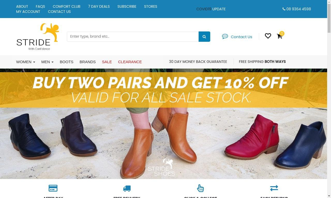 Strideshoes.com.au 1